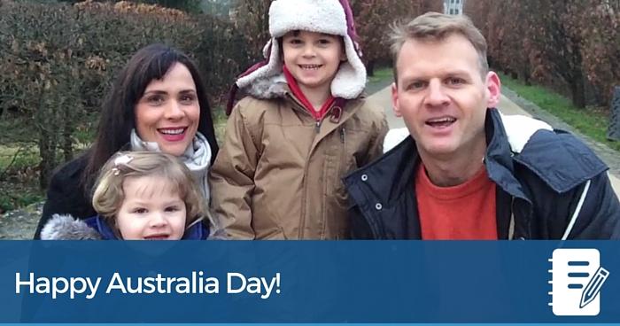 Happy Australia Day (Plus: I'm coming home!)
