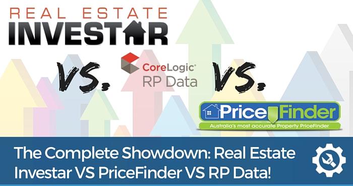 Real Estate Investar VS PriceFinder VS RP Data Comparison Review