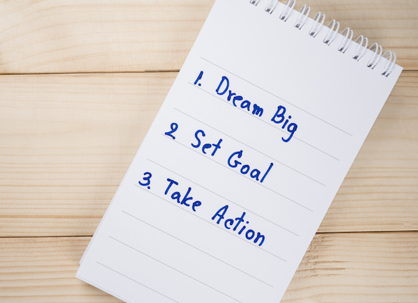 Dream Big, Set Goal , Take Action