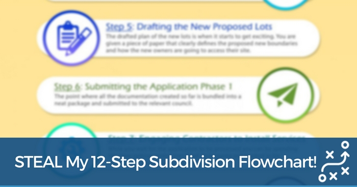 Complete Any Subdivision Project Successfully With This 12 Steps Subdivision Flowchart!