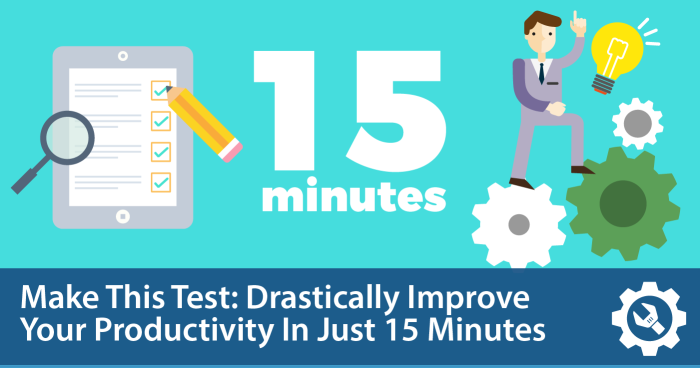 A New Kind Of Test Improves Your Productivity In 15 Minutes